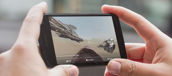 360 stepeni video snimci na Facebooku