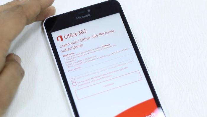 Besplatan Office 365 za vlasnike Lumia 950