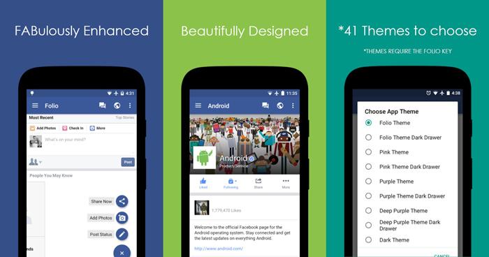Oficijelna Facebook aplikacija će trošiti manje resursa uz Folio