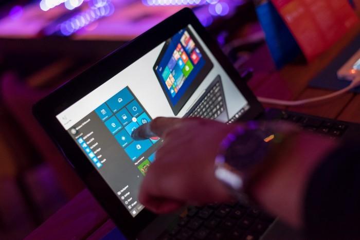 Windows 10 zauzima