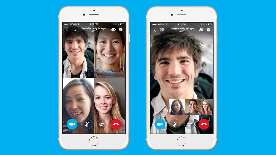 Grupni video pozivi preko Skype mobilne aplikacije