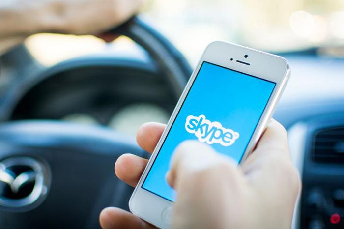 Skype za iOS