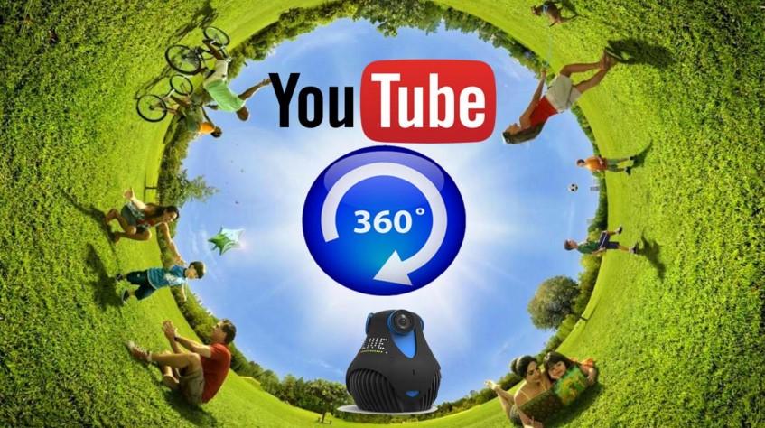 360 stepeni video na YT