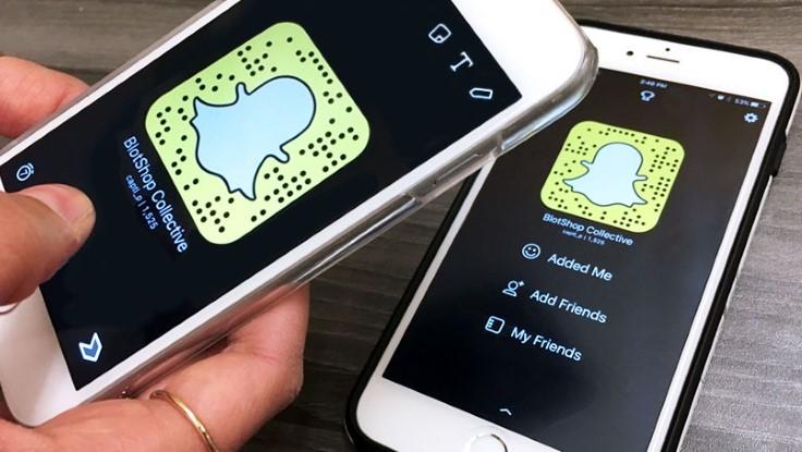 na Snapchatu