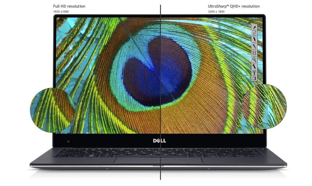 Dell XPS 13 ekran