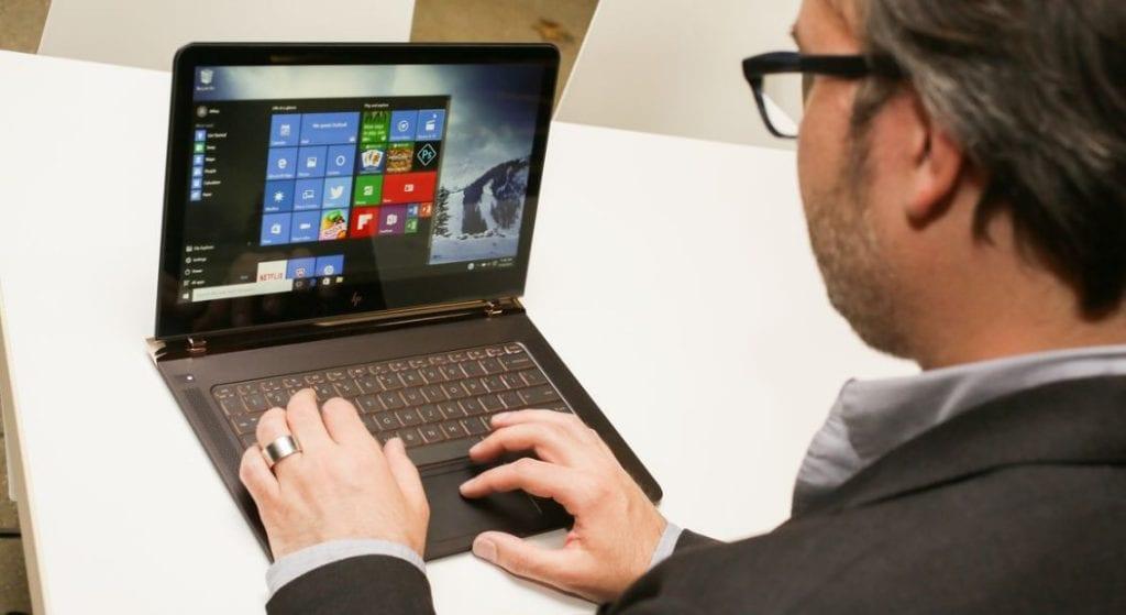 HP Spectre + Windows 10