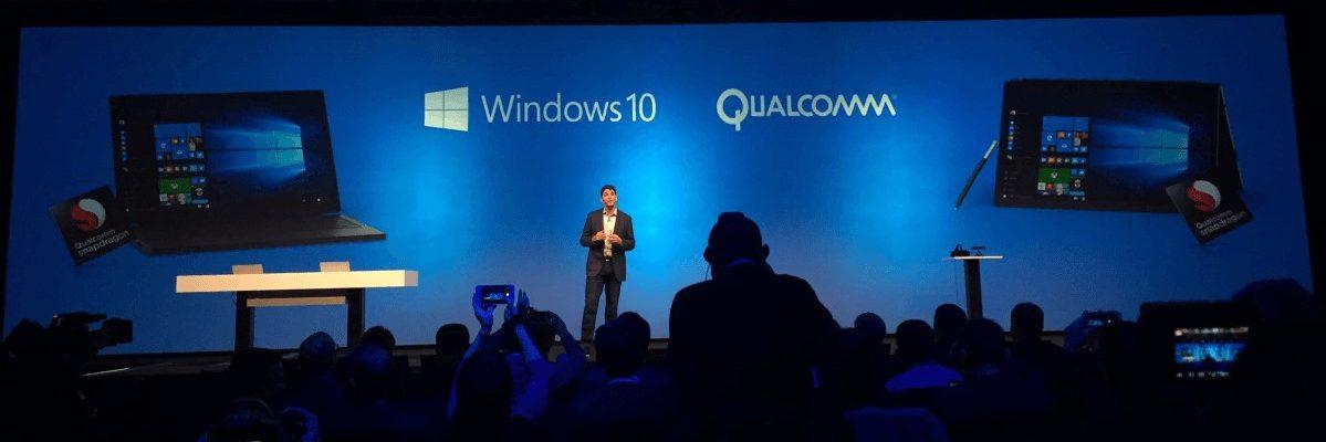 Windows 10 Qualcomm partnership
