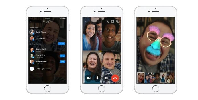 grupni video chat messenger