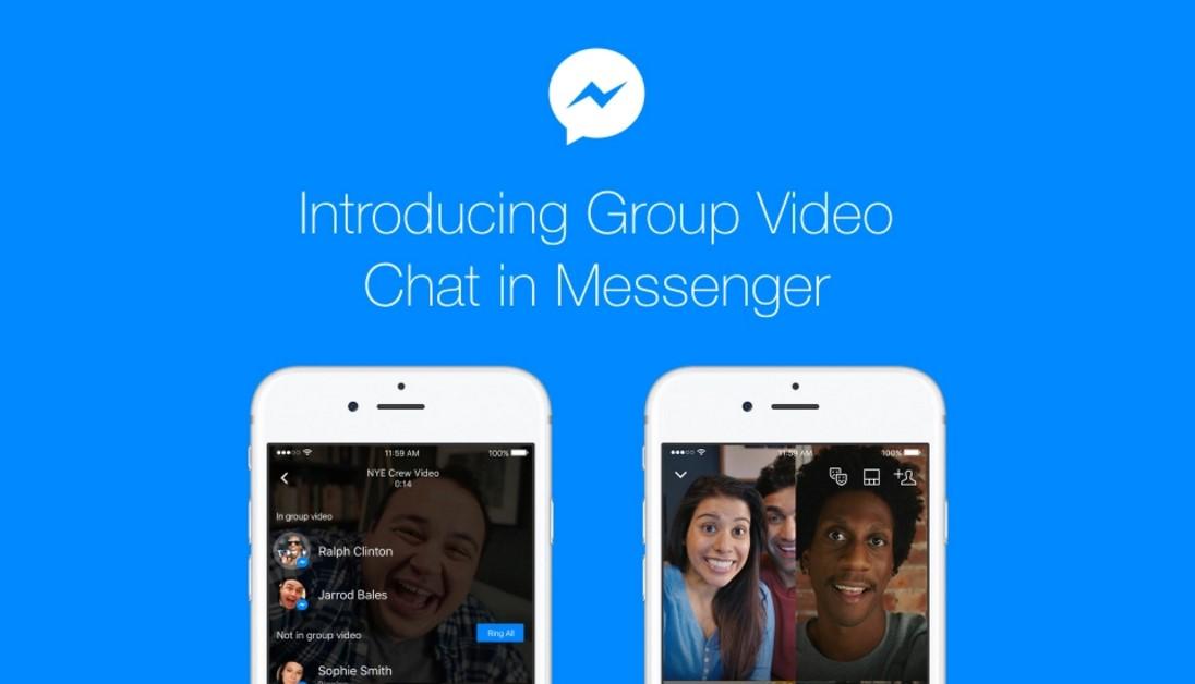 messenger grupni video chat
