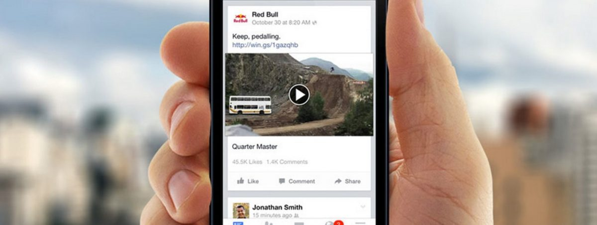 facebook video mobile