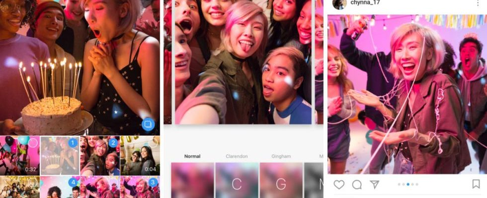 instagram više slika odjednom