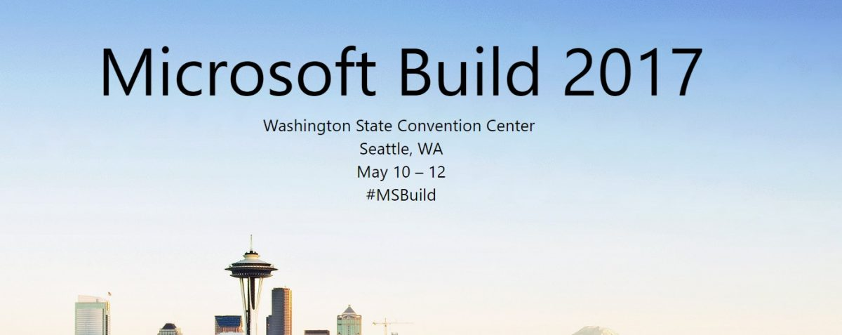 Windows 10 Build conference
