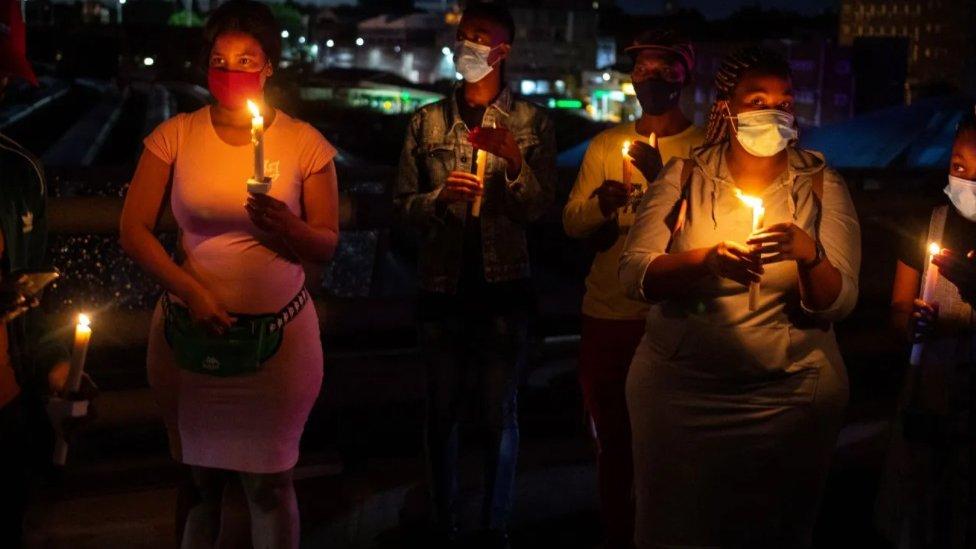 Sećanje na žrtve korona virusa u Južnoj Africi